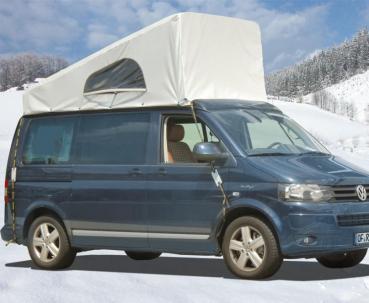 Wetterschutz Cap Mütze  Schlafdach VW T5/6 Easyfit & California vorne hoch
