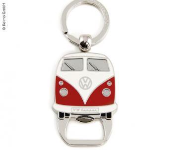 Schlüsselanhänger mit Flaschenöffner, rot VW Collection