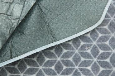 Isolierender Vorzeltteppich Fleeceteppich 240 x 240 cm